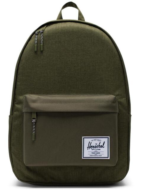 Herschel Classic X-Large Backpack Unisex, olive night crosshatch/olive night